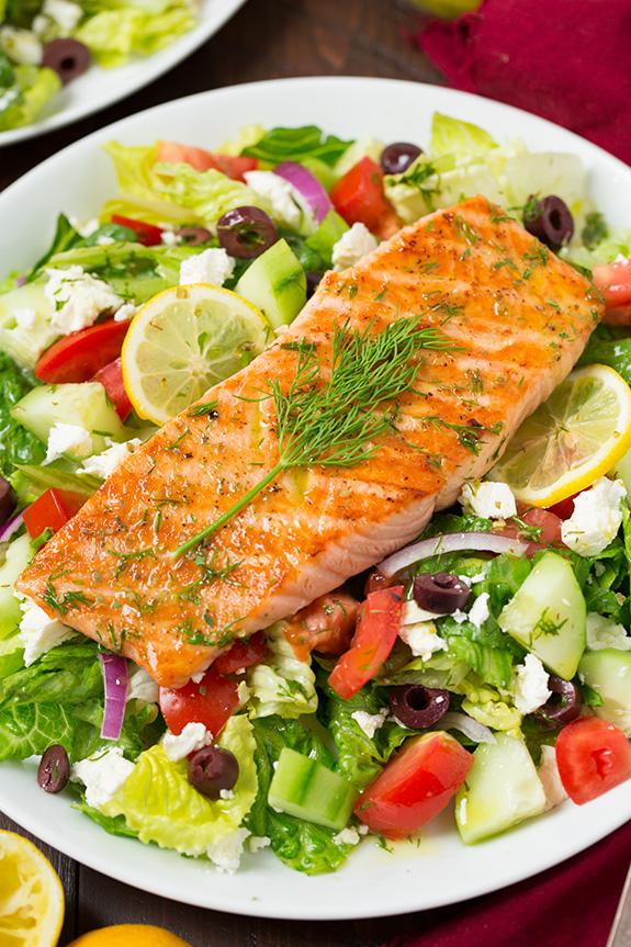 рыбные блюда рецепты с фото салаты все