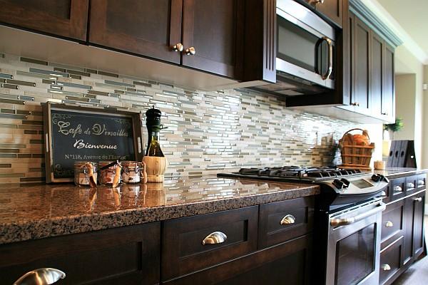 Дизайн рабочей стенки на кухню