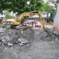 Строим дом, снос старого строения
