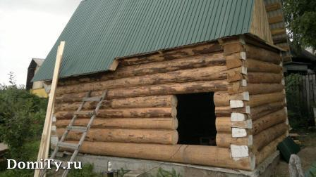 Рубка углов в чашу или в лапу при строительстве сруба дома