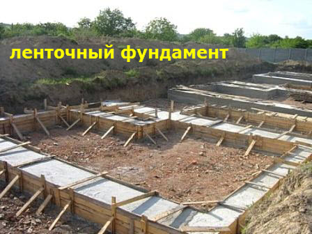 lentochnyiy fundament sruba