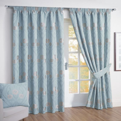 blue-curtains-interior