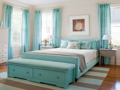 turquoise-curtains-interior-design